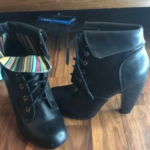 Dollhouse ankle booties